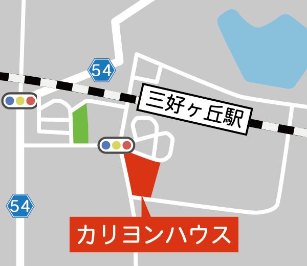 カリヨンハウスマップ